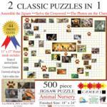Puzzle Combo: Animal Nursery