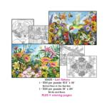 Lori Schory Coloring Page/Puzzle Set