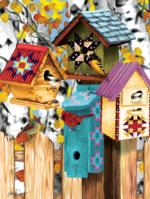 Fall Birdhouses