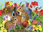 Bunnies and Birdhouses