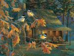 Cabin Chickadees