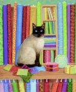 Quilt Shop Cat