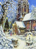 Church in the Snow 300