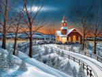 Winter Evening Service 300