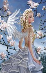 Angel and Magnolias