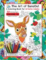 The Art of Sunsout Adult Coloring Book - Volume 2