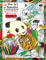 The Art of Sunsout Adult Coloring Book - Volume 5 - Wildlife