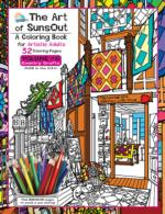 The Art of Sunsout Adult Coloring Book - Volume 6 - Country Crafts