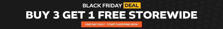 Buy 3 Get 1 Free Storewide